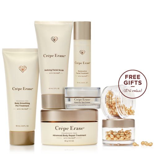 Advanced 5-Piece Body + Face System Fragrance Free, , main