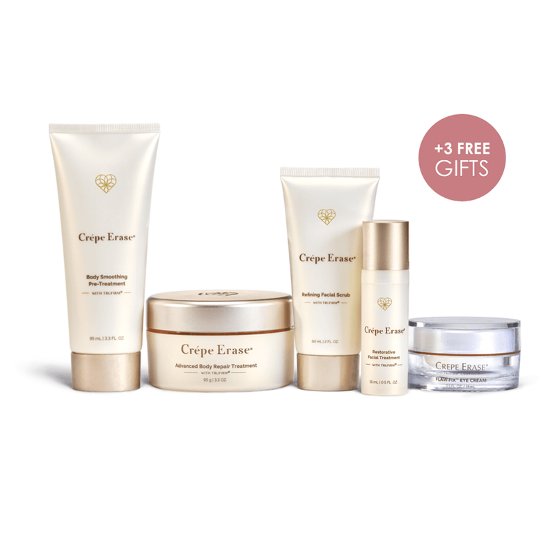 Advanced 5-Piece Body + Face System Fragrance Free, , pdp